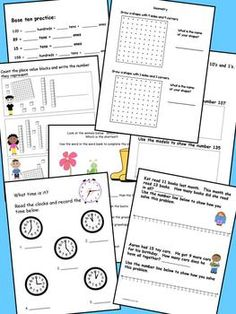 Common core aligned Math journal for May! Great for small group, math centers, math warm up or exit cards!  Other monthly journals avaliable from TPT store. $