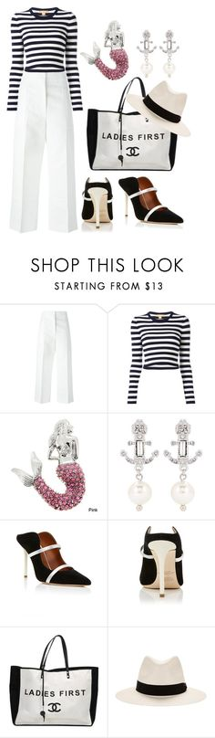 """""""Sea"""" by glamheartcafe ❤ liked on Polyvore featuring Marni, Michael Kors, Miu Miu, Malone Souliers, Chanel and rag & bone"""