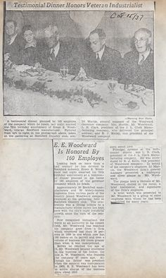 Newspaper article from October 15, 1937.