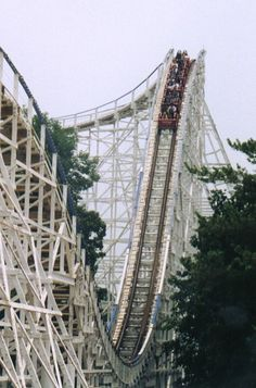 Screamin' Eagle at Six Flags St. Louis. Weeeeeeeeeeee!