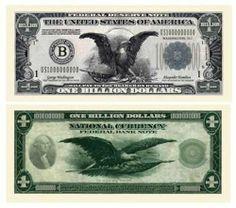 Classic Billion Dollar Bill (10/.... $4.99