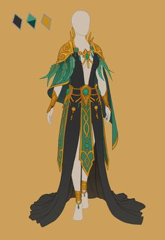 CLOSED Fashion adoptable ~ Jungle elf by Ayleidians