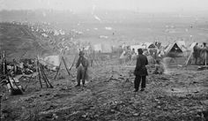Union battle line, battle of Nashville, Dec. 1864
