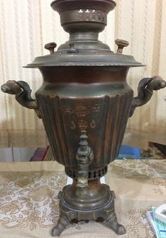 Copper rare Turkish samovar in a good condition