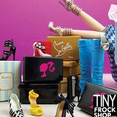 Need shoes for your fashion doll? Tinyfrockshop.com #tinyfrockshop #barbiedoll #barbieclothes #barbiecollector #integritytoys #integritytoysdolls #dollphotogallery #fashiondoll