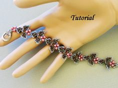 PDF Tutorial for Ivy Beadwoven Bracelet - beaded seed bead jewelry - beadweaving beading pattern. $5.50, via Etsy.
