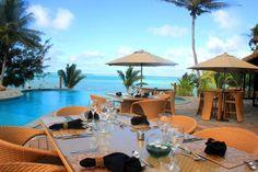 Poolside at Nautilus. Rarotonga Resorts, Dream Party, Outdoor Furniture Sets, Outdoor Decor, Cook Islands, Nautilus, Fiji, Live Life, Villa
