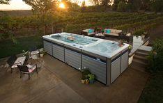Swim spas. Mucho mas que una piscina... mucho mas que un spa...todo en uno¡¡