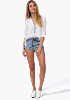Wild Loose Casual Long-sleeved Chiffon Shirt White XX15032514.http://www.clothing-dropship.com