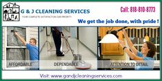 Get Fast Office Cleaning Ideas and Save Your Time  Are seeking for Office Cleaning Burbank.  Hire a GandJCleaning Cleaning Service we give immediate help to our clients. For more information, call at 818-810-8773. Visit: http://www.gandjcleaningservices.com/about-los-angeles-cleaning-company.html
