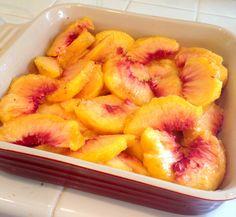 Organic Peach Crisp-