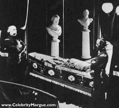 Abraham Lincoln lying in state