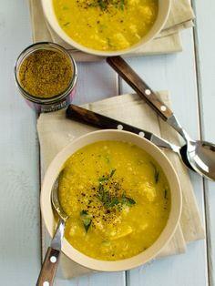 Aromatyczna zupa z soczewicy