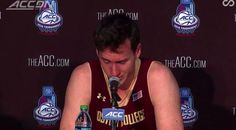Boston College Senior?s Answer To ?What Was Your Best Memory Of Playing College Basketball? Is Literally The Saddest Moment In Sports History