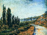 """New artwork for sale! - """" Claude Monet - The Road From Vetheuil by Claude Monet """" - http://ift.tt/2m4Ghmd"""