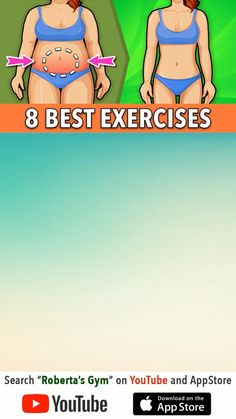 Fitness Workouts, Gym Workout Videos, Gym Workout For Beginners, Fitness Workout For Women, Exercise For Lower Belly, Full Body Gym Workout, Band Workout, Gymnastics Workout, Weight Loss Workout Plan