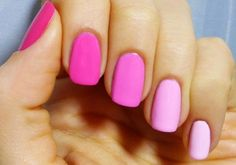I love the pink ombre for valentines day or breast cancer awareness next month!