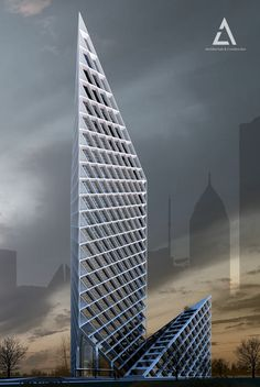 Ales Tower in Moscow by architect Eldar Melikshakh