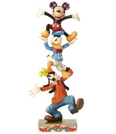 Carry on Disney traditions with Disney statues and figurines by Jim Shore. Shop for Mickey Mouse. Jack Skellington and Snow White figurines. Sleeping Beauty sculpture and more at Disney Store. Mickey Mouse E Amigos, Mickey Mouse Donald Duck, Mickey Mouse And Friends, Disney Mickey Mouse, Mickey Mouse Figurines, Disney Figurines, Disney Statues, Disney Collectibles, Classic Disney Characters