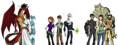 Ben 10 in Heroes United - The Perfect Crossover Cartoon Crossovers, Cartoon Movies, Cartoon Shows, Cartoon Characters, Cartoon Sketches, Animal Sketches, Comic Character, Character Design, Cartoon Network Fanart