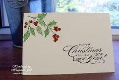 SU Watercolour Winter & Delightful Dozen - perfect for producing Christmas cards in bulk!
