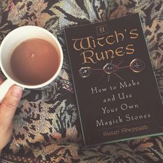 "74 Likes, 1 Comments - A Witch's Path (@a_witchs_path) on Instagram: ""Nothing like tea and some #witchy reading to start the day right. #witchesofinstagram #witchbooks…"""