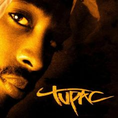 the text on this next to tupac lets you know that he is from the urban streets and means bussinus