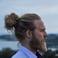 Because #manbun I guess  #whenthebeardwasmighty #flashbackfriday Have a great weekend