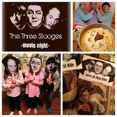 Classic Comedy - Three Stooges Movie Night Party