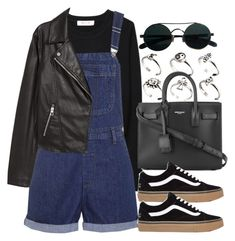 """""""#14140"""" by vany-alvarado ❤ liked on Polyvore featuring Organic by John Patrick, ASOS, Topshop, Yves Saint Laurent and H&M"""