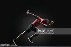 Male athlete. start right. Landing page, Facebook ads