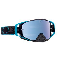 987f855a8e37 Spy Ace Blue Highlighter Black Blue Spectra Goggles at MXstore