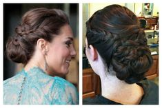 How To: Kate's Olympic Gala Updo
