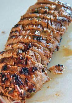 Our Favorite vietnamese pork tenderloin recipe just on edufoxy.com Pork Tenderloin Marinade, Pork Tenderloin Recipes, Pork Recipes, Crockpot Recipes, Cooking Recipes, Pork Marinade, Pork Loin, Pork Roast, Baked Tenderloin