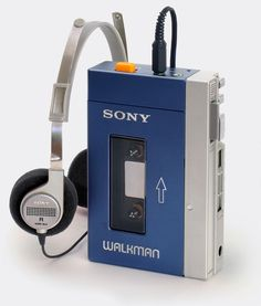 The first Sony Walkman, the TPS-L2 in 1979. The most important personal music device since the #transistorradio, the Walkman was also the device that made it common to wear headphones in public. From 'The Sony Walkman' at the web's largest private collection of antiques & collectibles, at http://www.ericwrobbel.com/collections/sony-walkman.htm  ••••••••••••••••••••••••••• #vintagetech  #vintagetechnology  #walkman  #vintageradio  #antiqueradio #sonywalkman