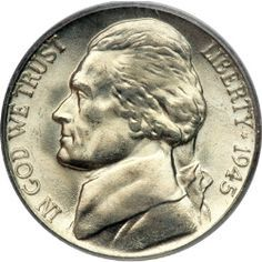 The Jefferson Nickel Began Production in Learn About Full Steps Here Rare Coins Worth Money, Valuable Coins, Old Coins Value, Foreign Coins, American Coins, Error Coins, Coin Worth, Coin Values, Show Me The Money