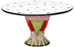 Appletree Design Cake Stand, 9-1/2-Inch Long, Plate Detaches from Base Appletree Design http://www.amazon.com/dp/B007W554YS/ref=cm_sw_r_pi_dp_2tLOvb0XJ2JPV
