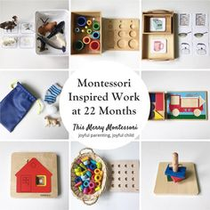 "115 Likes, 11 Comments - @thismerrymontessori on Instagram: ""New blog post: Montessori Inspired Work at 22 Months. When he is not running, jumping, and…"""