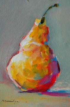 Burridge, Robert - Pear 17 #color #art #fruit