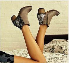 Sparkly heel Zenobia Steve Maddens | Accessories Beauty Tips