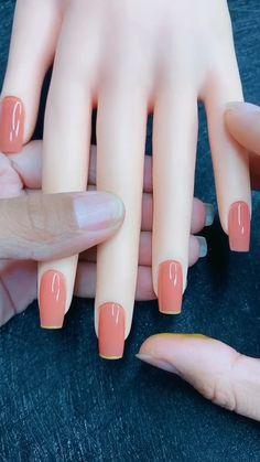 Nail Art Designs Videos, Cute Nail Art Designs, Acrylic Nail Designs, Nail Polish Designs, Stylish Nails, Trendy Nails, Cute Nails, Bling Acrylic Nails, Best Acrylic Nails