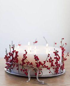 46 Cranberry Christmas Décor Ideas | DigsDigs