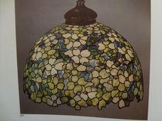 TIFFANY DOGWOOD LAMP.
