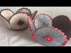 CD ile peçetelik sabunluk sepet yapımı - YouTube