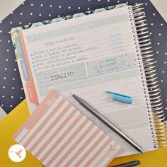"""Utilize a página do Make it happen do My Planner para organizar seu maior objetivo. Descreva todas as ações que fará em prol deste objetivo maior como """"passar no vestibular"""", e escreva também os prazos para si mesma. Palavras de incentivo e frases também são importantes em seu My Planner."""