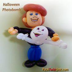 Halloween Photobomb ghost style.  #halloween #photobomb #ghost