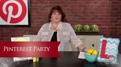 Inspired by Pinterest: How to Host a Pinterest Party. What better reason to host a party then to share something you and your friends all love, like Pinterest. You will learn ideas and tips on hosting your own pinterest party as Lori Allred (allreddesign.net) talks about her Pinterest Birthday Party and shares pins of other Pinterest Parties. Be sure to invite Lori if you're hosting one! And as always be sure to check out Lori's Pinterest Boards at http://www.pinterest.com/allreddesign