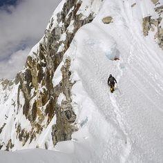 Quem gostava de escalar o #Nepal? #climbing #escalar #escalada #nepal #neve #snow #travelling