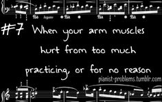 Every time...Pianist Problems