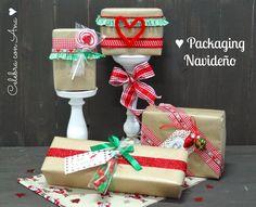 Celebra con Ana:  Empaquetadode regalos de  manera creativa.